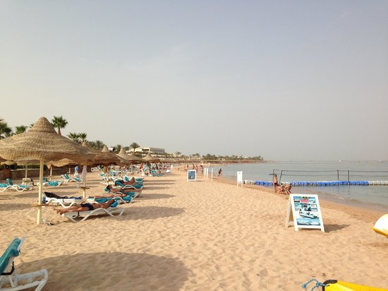Baron Resort Sharm El Sheikh: Hotel Baron Resort - Strand
