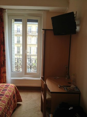 Hotel Jules Cesar: Chambre Single.