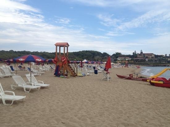 Hotel Ristorante Capo Piccolo: la spiaggia