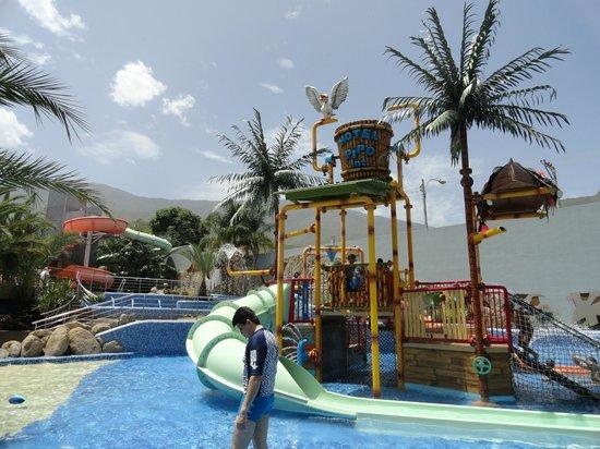 Pipo International Hotel: Vista Piscina Tobo