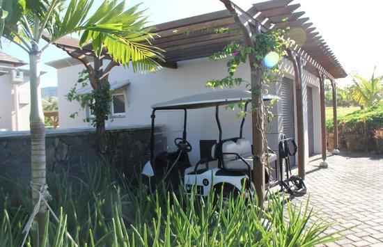 Heritage The Villas: Golf Cart