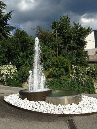 Hotel Rosengarten: fontane