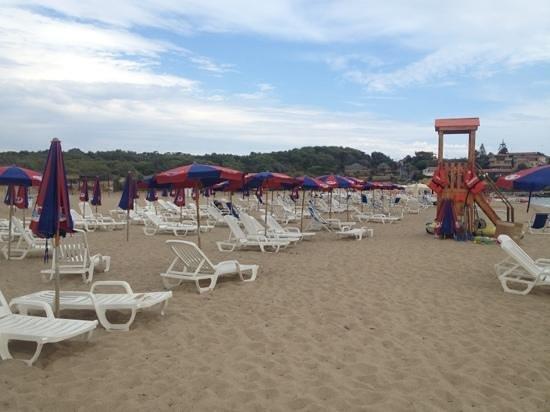 Hotel Ristorante Capo Piccolo: spiaggia 2