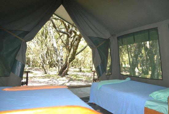 Wajee Mara Camp: The tents are warm and cosy