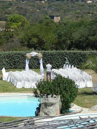 Hotel Ollastu Residence: Beautiful set up for wedding