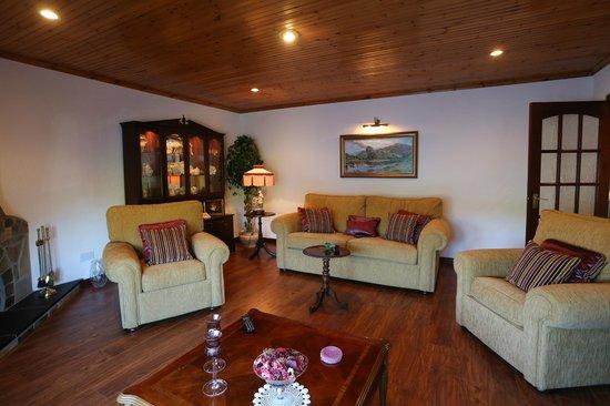Sleepy Hollow Bed & Breakfast: Relaxation/TV Room