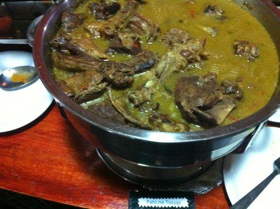 Pratos servidos no Lenhador , Tartaruga, Jacaré,peixes de agua doce estão entre eles!