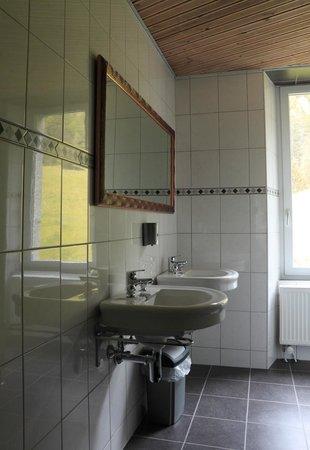 Hôtel La Grande Ourse: Nos salle de bains en commun