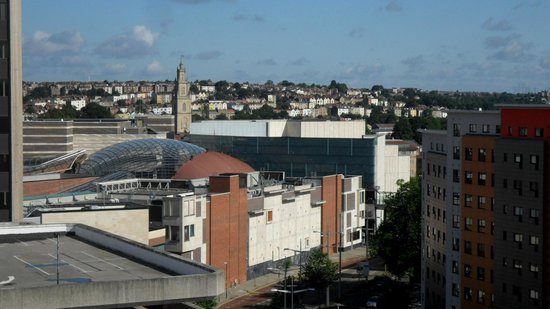 Bristol Marriott Hotel City Centre: view from second stay