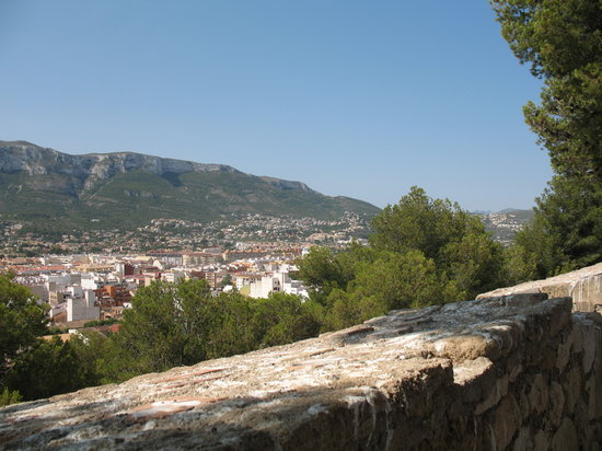 Port Denia : View from the castle