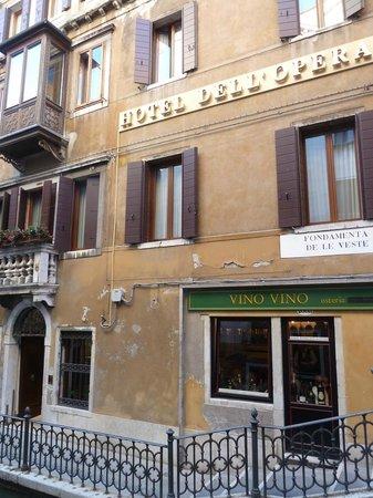 Hotel dell'Opera: Partial Façade, Hotel dell'Opera