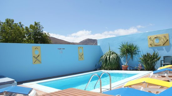 Tarajalejo, Espagne : Villa Barry Private Swimming Pool