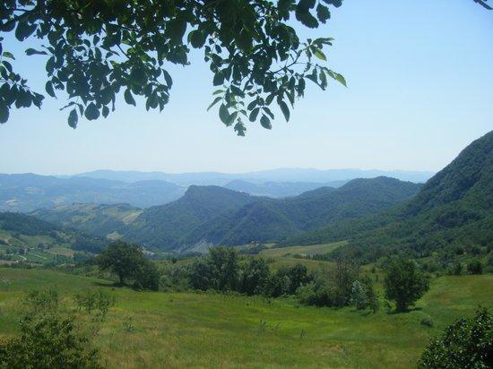 La Piana dei Castagni: The view from the garden