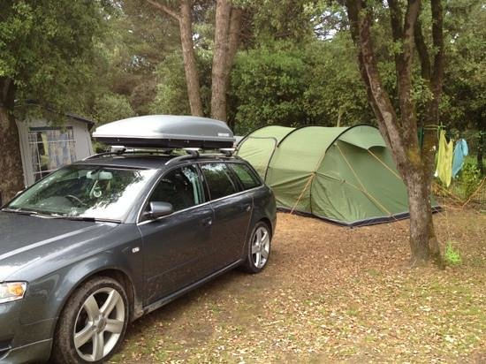 La Grainetiere Camping : last week of June 2013
