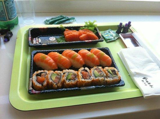 Wasabi Sushi : Direttamente dal frigo al tavolo