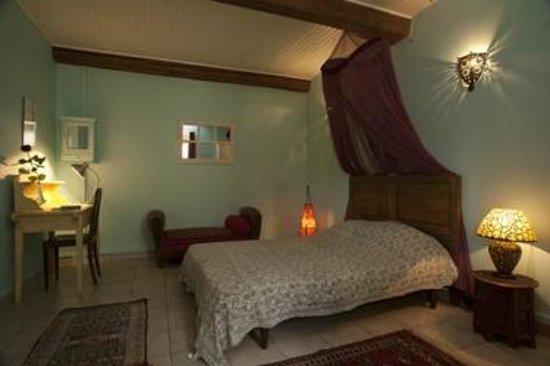 Mia Casa - Maison d'hote : Chambre double de la suite Orient / The Orient suite double room
