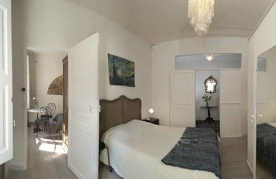 Mia Casa - Maison d'hote : Chambre double de la suite Gauguin (anciennement Zest), rénovée en mai 2013