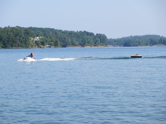 Lewis-Smith Lake & Dam: Jet skis welcome!