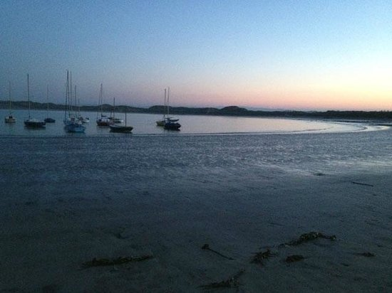 Beadnell Beach Guesthouse: This is the view of the beautiful beach!