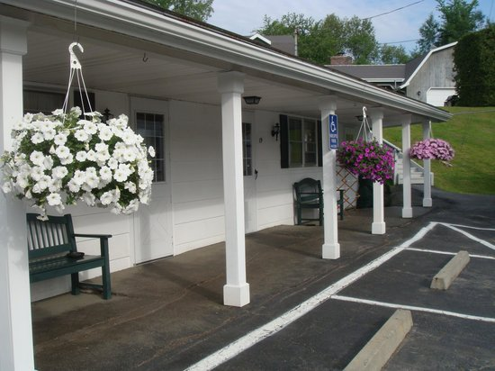 Twin City Motel: great flowers