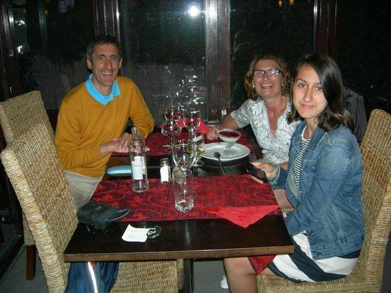 Restaurant Pizzeria Casa Di Roma: Sonrisas