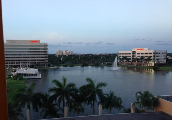 Renaissance Fort Lauderdale-Plantation Hotel: The view