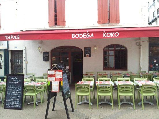 Restaurant Saint Jean De Luz Bodega Koko
