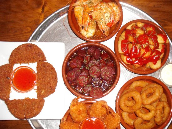 "can balache: The now famous ""Tony's Tapas"""