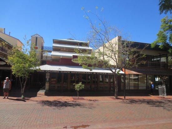 Red Ochre Grill Restaurant Alice Springs : Red Ochre