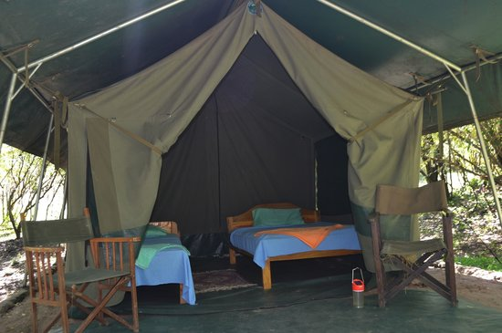 Wajee Mara Camp: Tents are either Deluxe or standard
