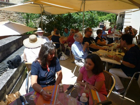 Sunny middays in Summer - Le Zanelli will be full.