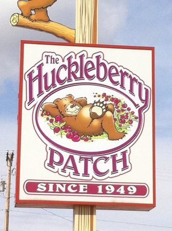 The Huckleberry Patch Cannery, Restaurant, & Gift Shop : You are Here