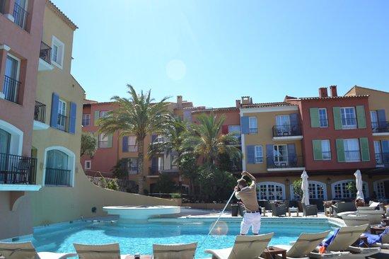 Hotel Byblos Saint Tropez: Hotel's pool
