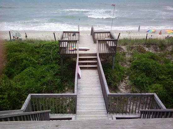 Topsail Island, Carolina del Norte: surf city