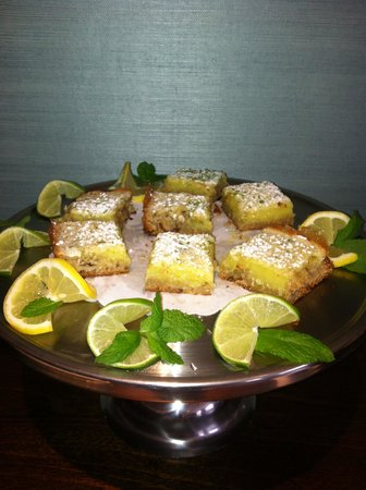 Regatta Inn: Lime Mojito Pecan Bars - delicious afternoon treat!