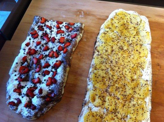 La Pizza di Alice: Nutella-fragole...mele-baileys