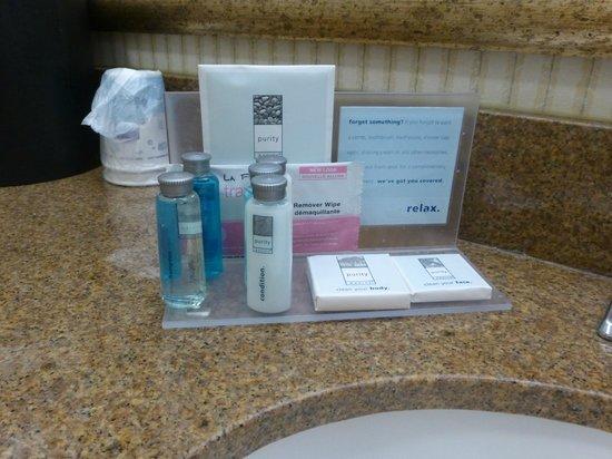 Hampton Inn & Suites by Hilton Toronto Airport: Bathroom