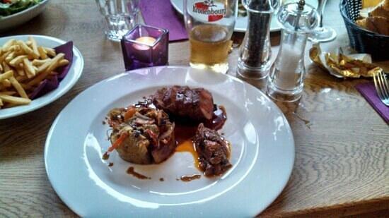 Le Vert Hotel Restaurant: Roasted Lamb