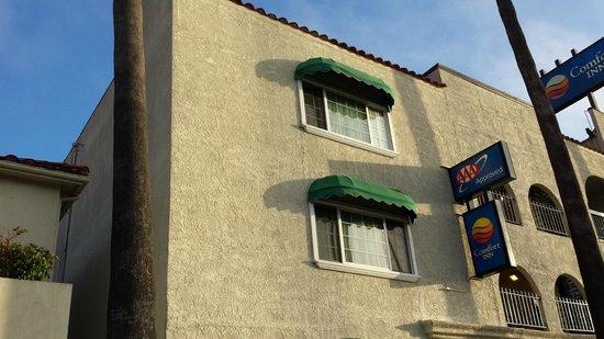كومفرت إن سانتا مونيكا - ويست لوس أنجيليس: Hotel frontage
