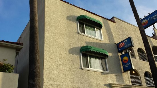 Comfort Inn Santa Monica: Hotel frontage