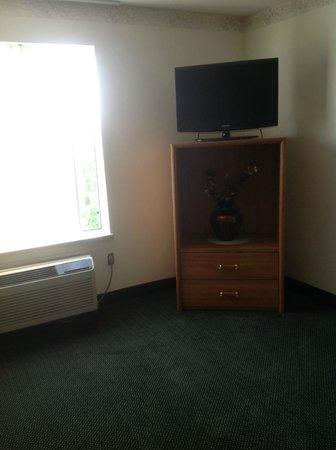 Baymont Inn & Suites Mackinaw City: tv