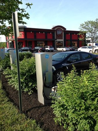 Stone's Cove Kitbar: Electric Charging Station in Owings Mills