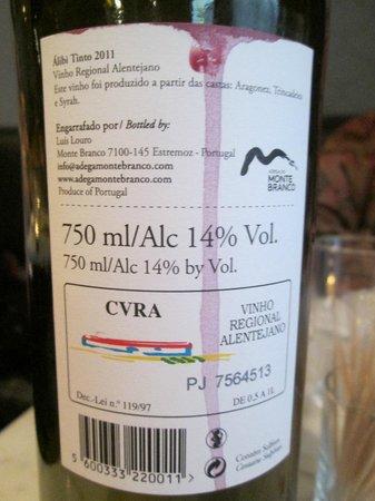 "Pontus!: The Pontus-""Pocket's"" own Portugese red wine"