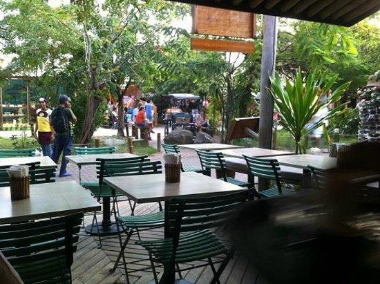 Tivoli Ecoresort Praia do Forte: Village caffe