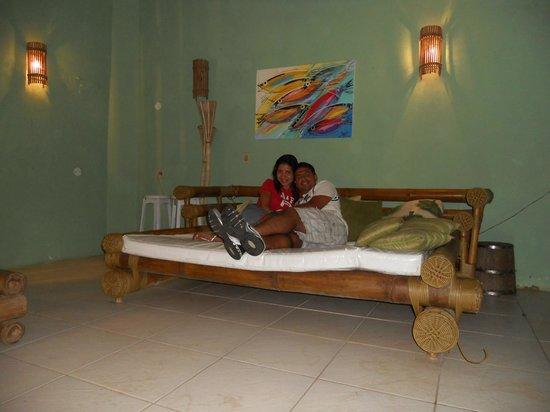Pousada Vila Geriba : Chaise Longue para descansar