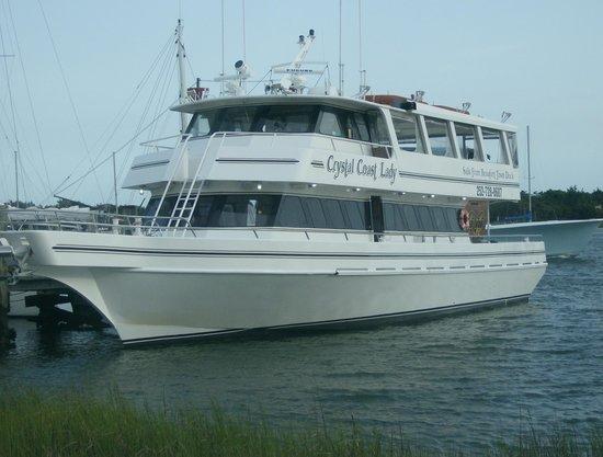 Crystal Coast Lady Cruises : Crusing on the Crystal Coast