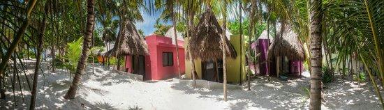 La Zebra: Beach side cabanas
