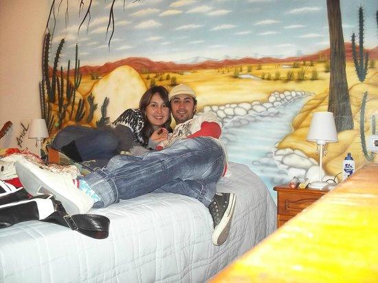 El Relax: Foto en la Habitaciòn