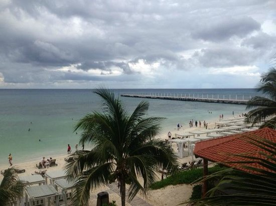 The Royal Playa del Carmen: View from Suite 835