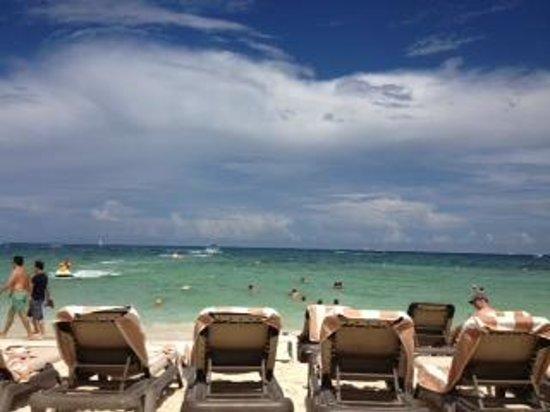The Royal Playa del Carmen: View from Cabana